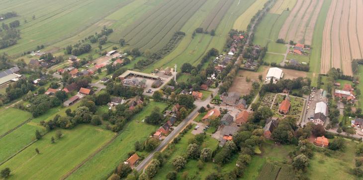 Ein Dorf in Niedersachsen