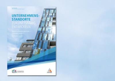 """Titelblatt """"Unternehmensstandorte zukunftsfähig entwickeln"""""""